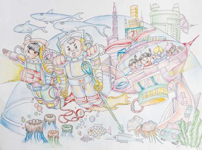 海底城市——我们的未来乐园